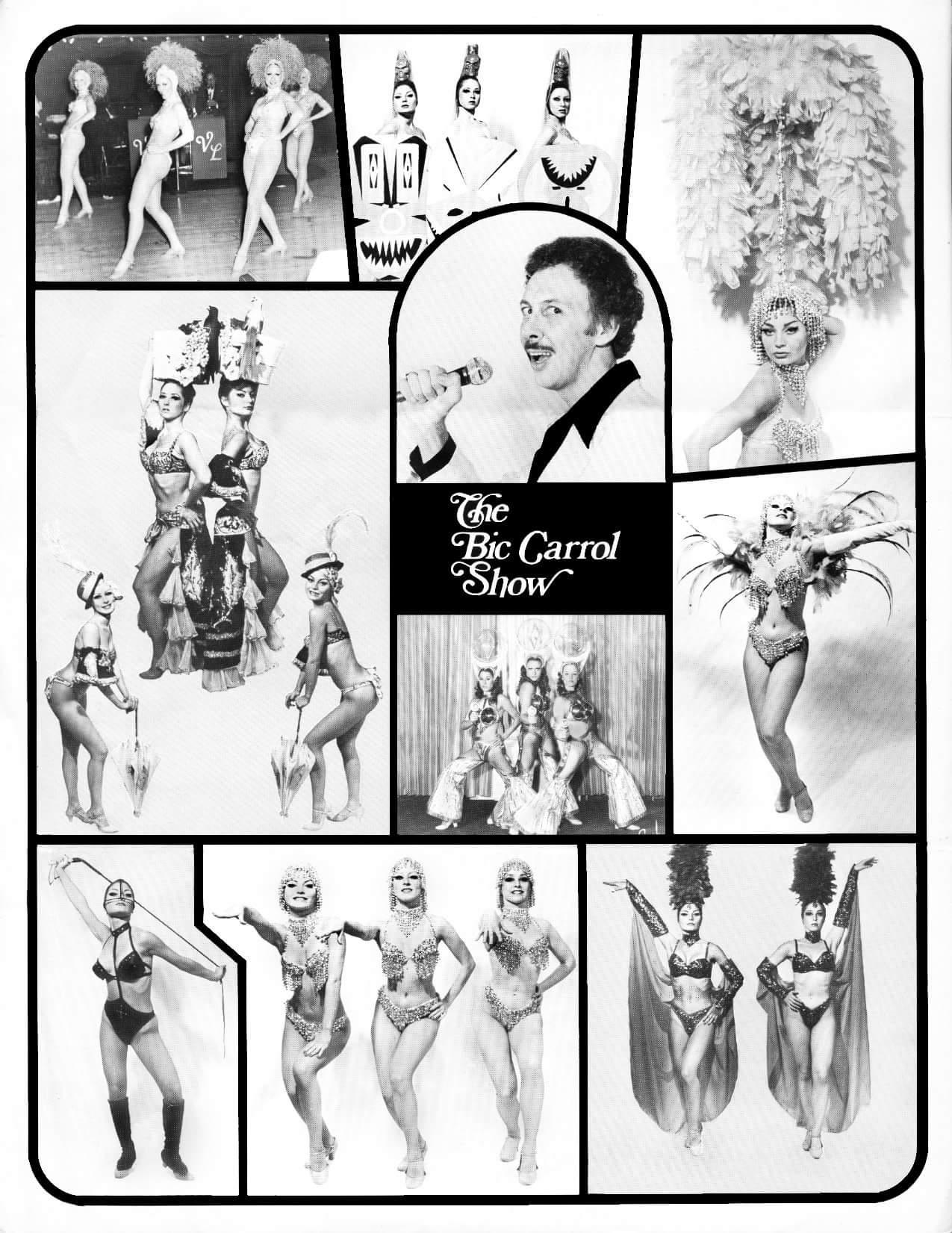 The Bic Carrol Show - Burlesque Legend