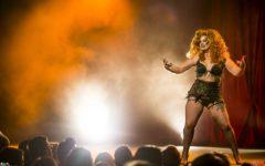 Alyssa Kitt at the Australian Burlesque Festival 2016. Image copyright 3 Fates Media
