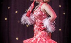 Havana Hurricane stars in Burlesque Noir at the Blackpool Tower Ballroom. Photo Neal Rylatt Photography.