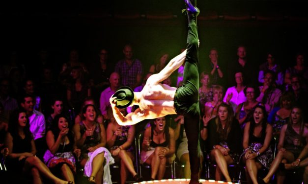 La Soiree Star Hamish McCann in Pole Position