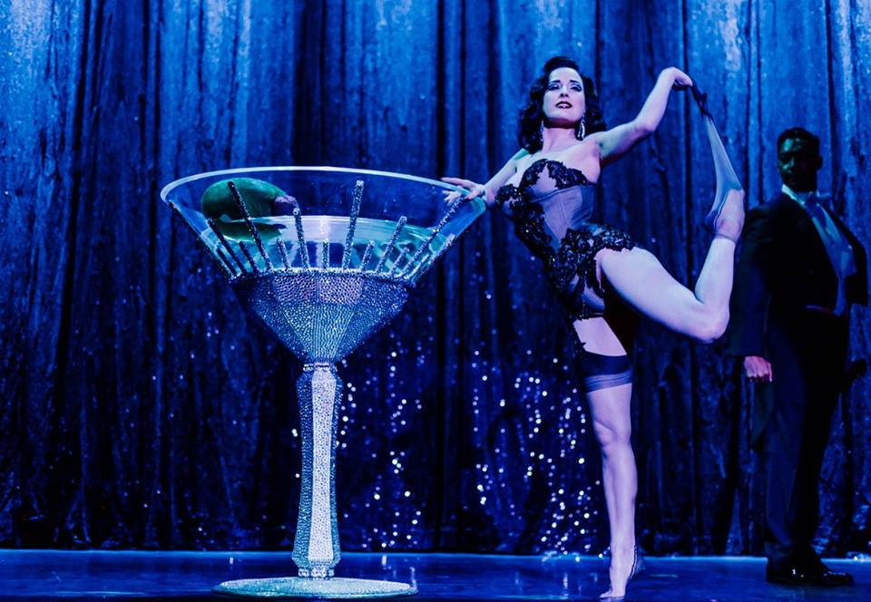 Dita Von Teese in Strip Strip Hooray! Photo: Kaylin Idora