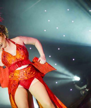 Dolores Daiquiri at the Australian Burlesque Festival 2016. Image copyright 3 Fates Media