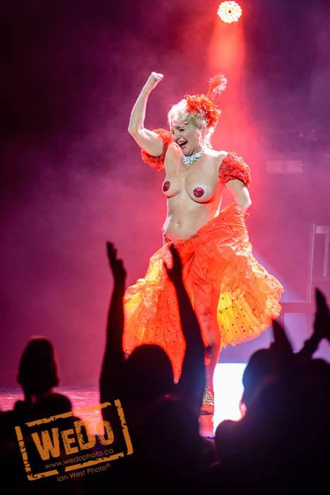 Judith Stein at the Vancouver Burlesque Festival, by We Do Photo