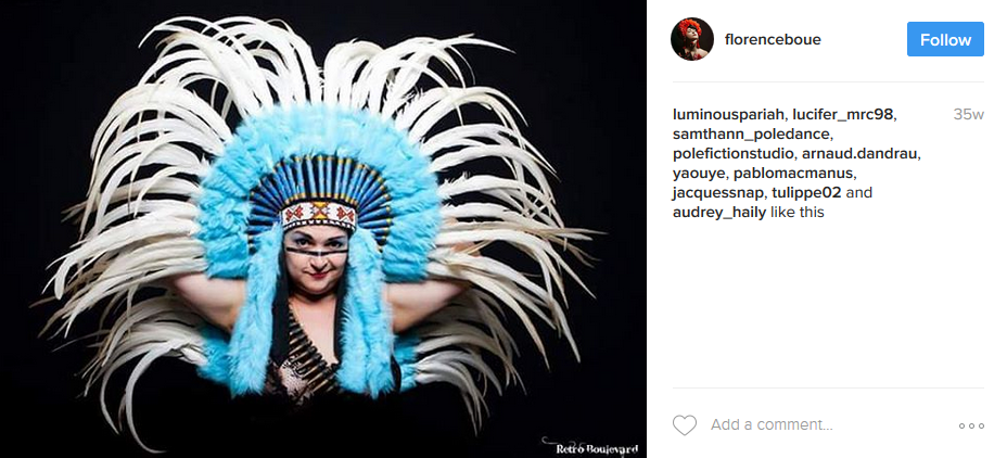 Toulouse Burlesque Festival producer Florence Boué on Instagram.