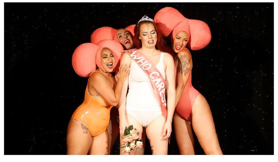 Feral Feminism: Baby Got Back burlesque in Australia. (c. Frankie Valentine)