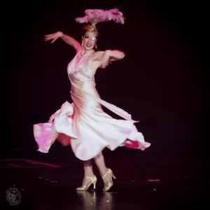 Gaea Lady in the Icons and All Stars Showcase at the Burlesque Hall of Fame Weekend 2017. Image by Honey Beavers, exclusively for 21st Century Burlesque Magazine