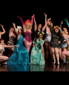 Opening number at the Movers, Shakers and Innovators showcase at the Burlesque Hall of Fame Weekend 2017. Image by Honey Beavers, exclusively for 21st Century Burlesque Magazine