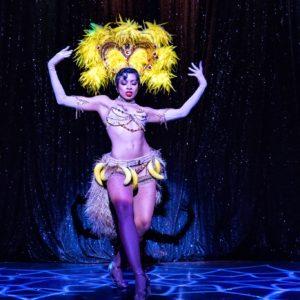 Zelia Rose in The Art of the Teese tour. ©Frank Rodrick