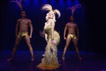 Dita Von Teese in The Art of the Teese tour. ©Frank Rodrick