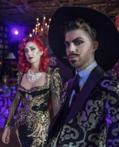 The Roustabouts in Sublime Boudoir at Alder Manor. ©Sublime Boudoir