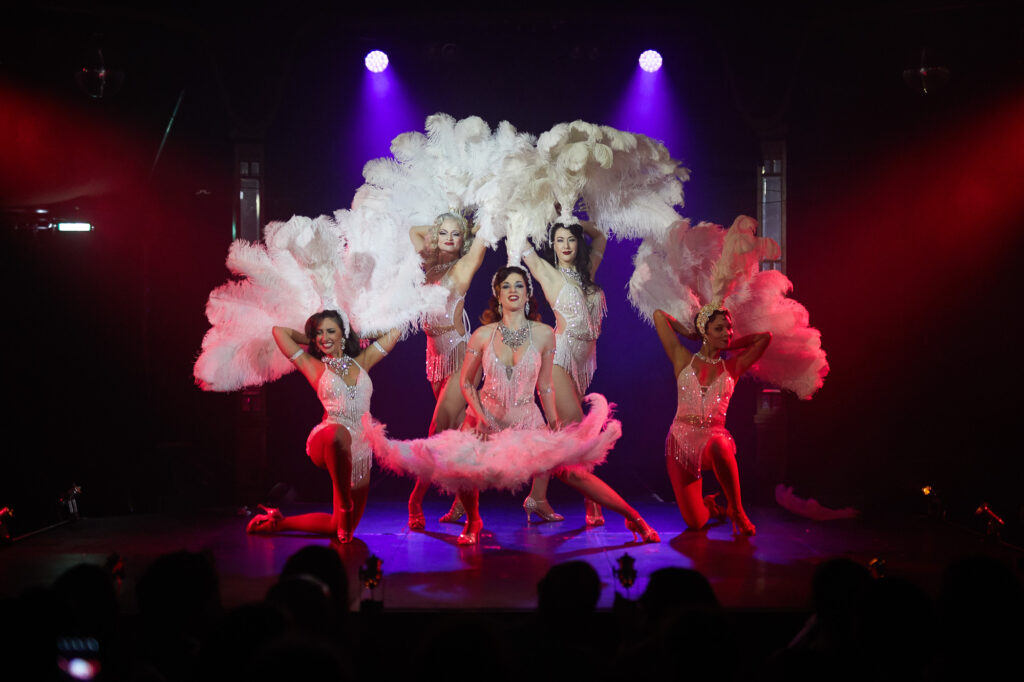 Gin House Burlesque: The Roaring Twenties Revue at the Underbelly Festival 2017. Photo by Paul Monckton
