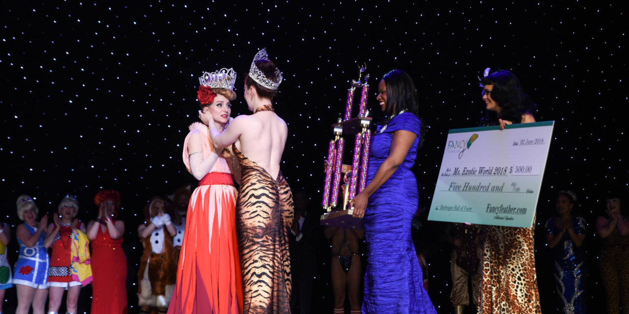 First Look: INGA – Miss Exotic World, Reigning Queen of Burlesque 2018