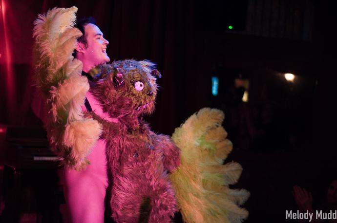 Bazuka Joe at the Crescent City Burlesque Weekender, by Melody Mudd.
